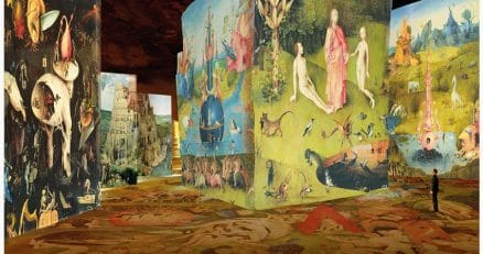 Carrieres de Lumieres in Baux de Provence