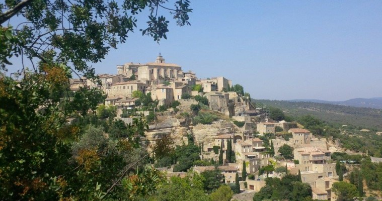 Full day tour market and Luberon hilltop villages